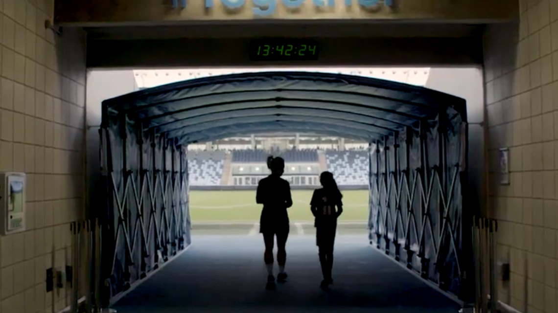 Still from UEFA YouTube video